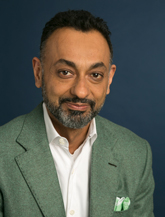 Portrait of Satbir Bedi, Chief Technology Officer at Scholastic Corporation.