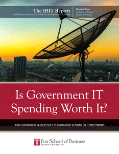 The IBIT Report  Is IT worth it? 2015
