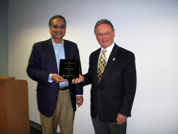 Niraj Patel Executive-in-Residence