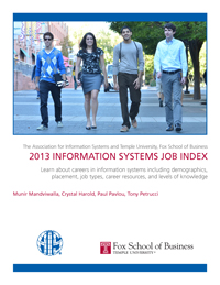 AIS Temple FoxSchool 2013 IS Job Index