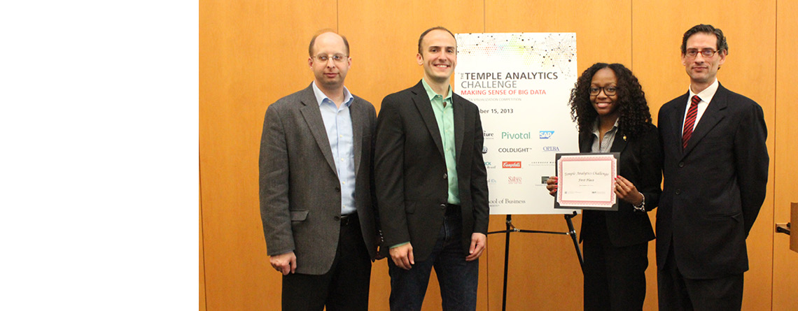 Temple Analytics Challenge attracts 400 participants, distributes $7,000 in prizes