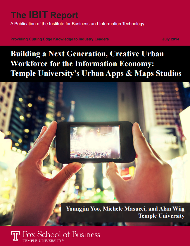 Building a Next Generation, Creative Urban Workforce for the Information Economy: Temple University's Urban Apps & Maps Studios