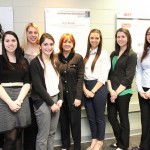 Sondra Barbour, EVP, Lockheed Martin spends day with Temple students
