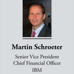 Martin Schroeter, CFO, IBM spends day with Finance and MIS students
