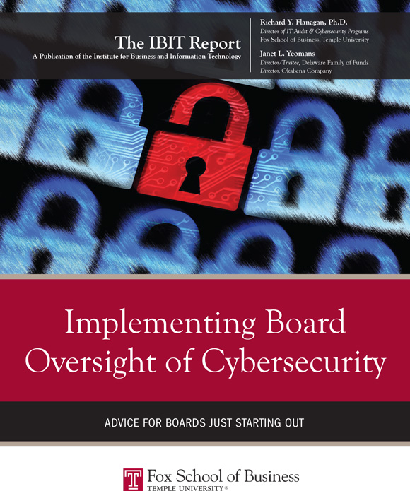 IBIT Report Implementing Board Oversight of Cybersecurity 2016