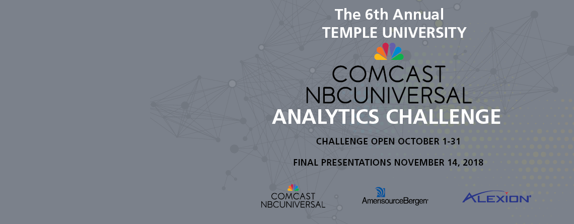 Winners Announced For 6th Annual Temple University NBCUniversal Analytics Challenge