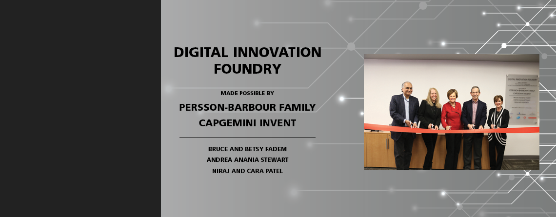 New Foundry generates digital innovation in collaboration with industry